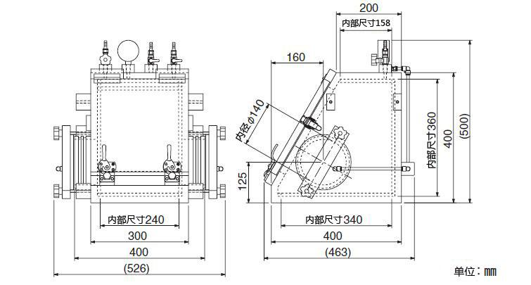 紧凑型真空手套箱VG-C型