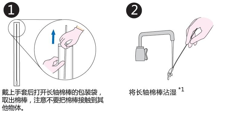 PD-30配套试剂——拭取检测用长轴棉棒
