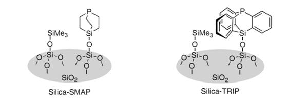 二氧化硅负载型笼型膦