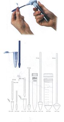Kimble研磨槌 749516-0500槌 0.5ml 制作材料SS不锈钢槌