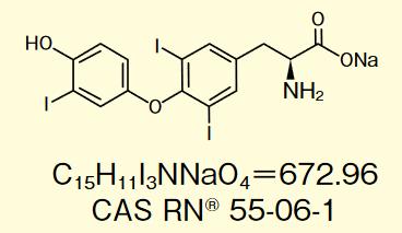 3,3',5-三碘-L-甲状腺素钠