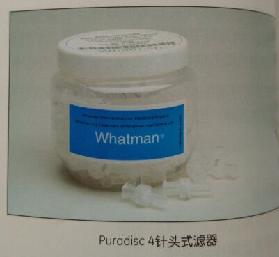 GE WHATMAN 6777-0404聚偏二氟乙烯Puradisc 4mm针头式滤器50pk