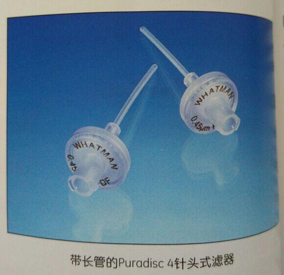 GE WHATMAN 6791-0402聚偏二氟乙烯Puradisc 4mm针头式滤器50pk