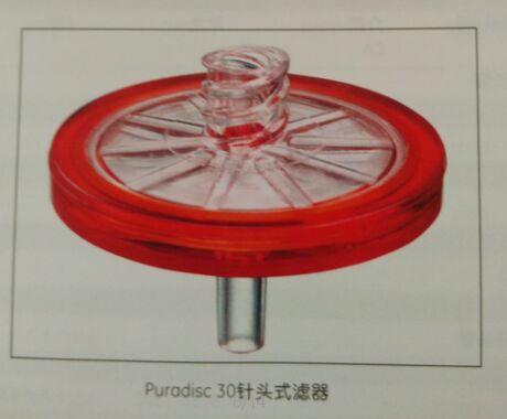 GE WHATMAN 10462520硝酸纤维素/聚碳酸酯Puradisc 30mm针头式滤器