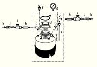 Millipore压力罐压力容器配件包xx67000pk